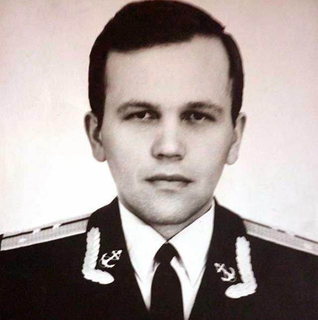 Юрий Калошин, командир электро-навигационной группы БЧ-1  на К-56