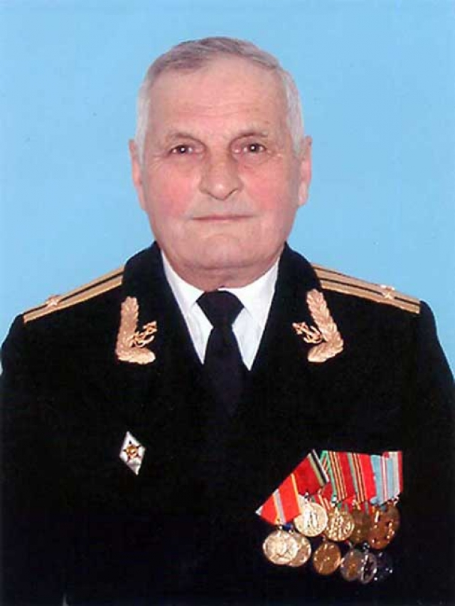 Николай Юрченко, командир третьего дивизиона БЧ-5 К-56, капитан 2-го ранга