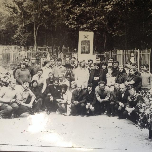 Кладбище, на котором похоронены моряки атомной субмарины К-56