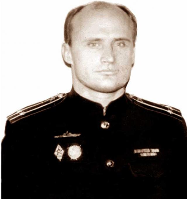 Гвардии капитан второго ранга инженер Пшеничный Леонид Матвеевич