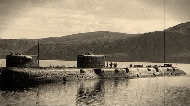 Подводная лодка К-56