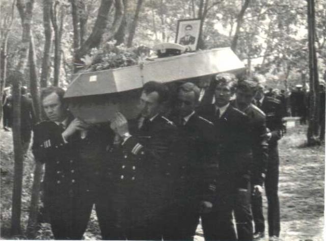 Трагедия подлодки К-56 в заливе Петра Великого