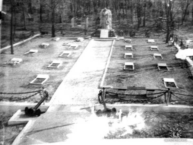 Место захоронения моряков К-56