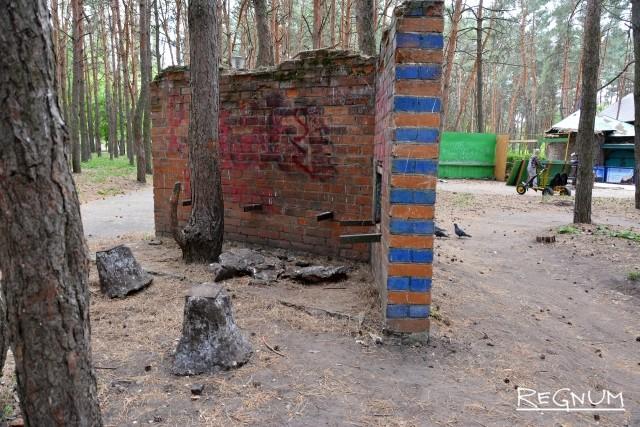 Воронежский парк в варианте «святых девяностых»