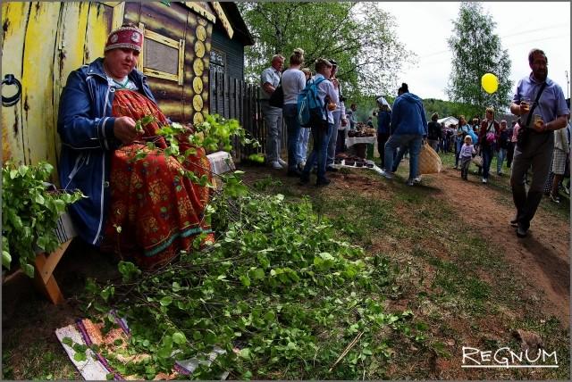 Традиционные ремесла на празднике «Древо жизни»