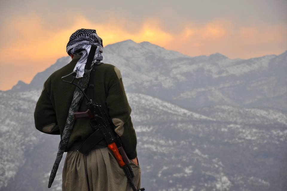 Партизан Партии свободной жизни Курдистана (PJAK)