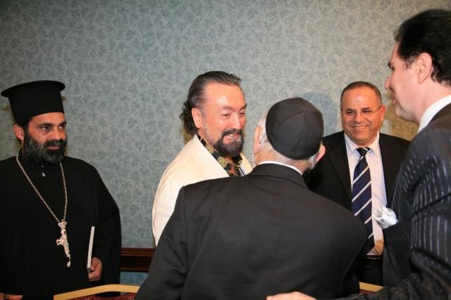Встреча представителей религиозных конфессий с Аднаном Октаром