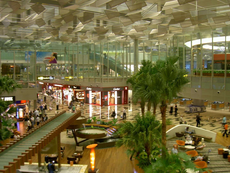 Сингапурский аэропорт чанги схема