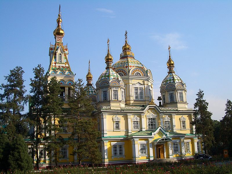 Алма-Ата. Свято-Вознесенский кафедральный собор