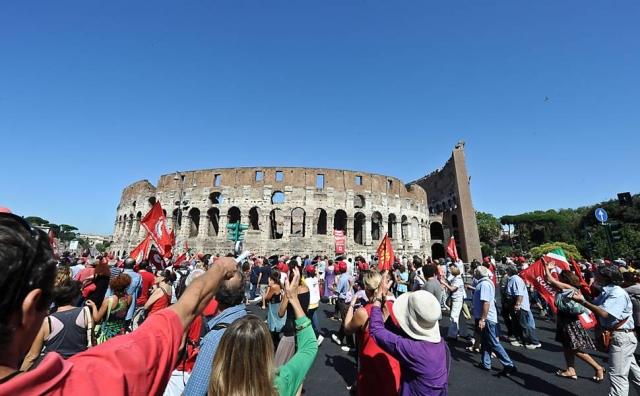 16 июня в Италии объявлена национальная забастовка транспорта