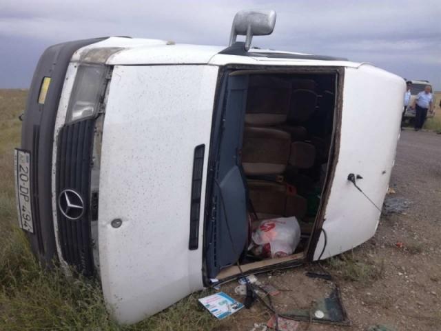 11 граждан Азербайджана пострадали в ДТП в Калмыкии