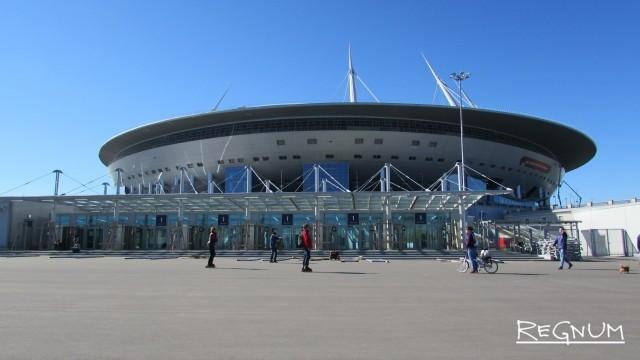 На Крестовском острове Петербурга откроется Кубок конфедераций FIFA-2017