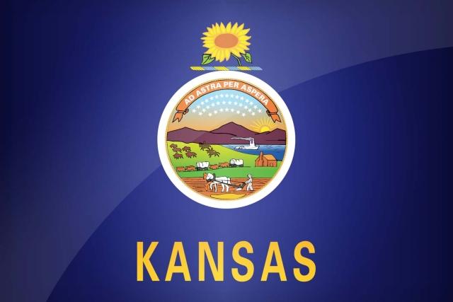 Флаг штата Канзас