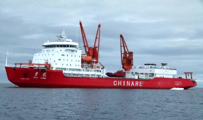 Китайский ледокол «Сюэлун»