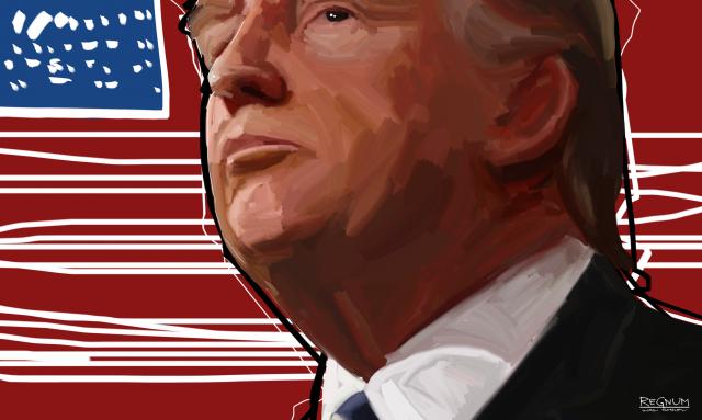 Либеральная Америка в ярости: Трамп воссоединился с семьей