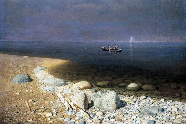 В Карелии на Ладожском озере перевернулась лодка с детьми