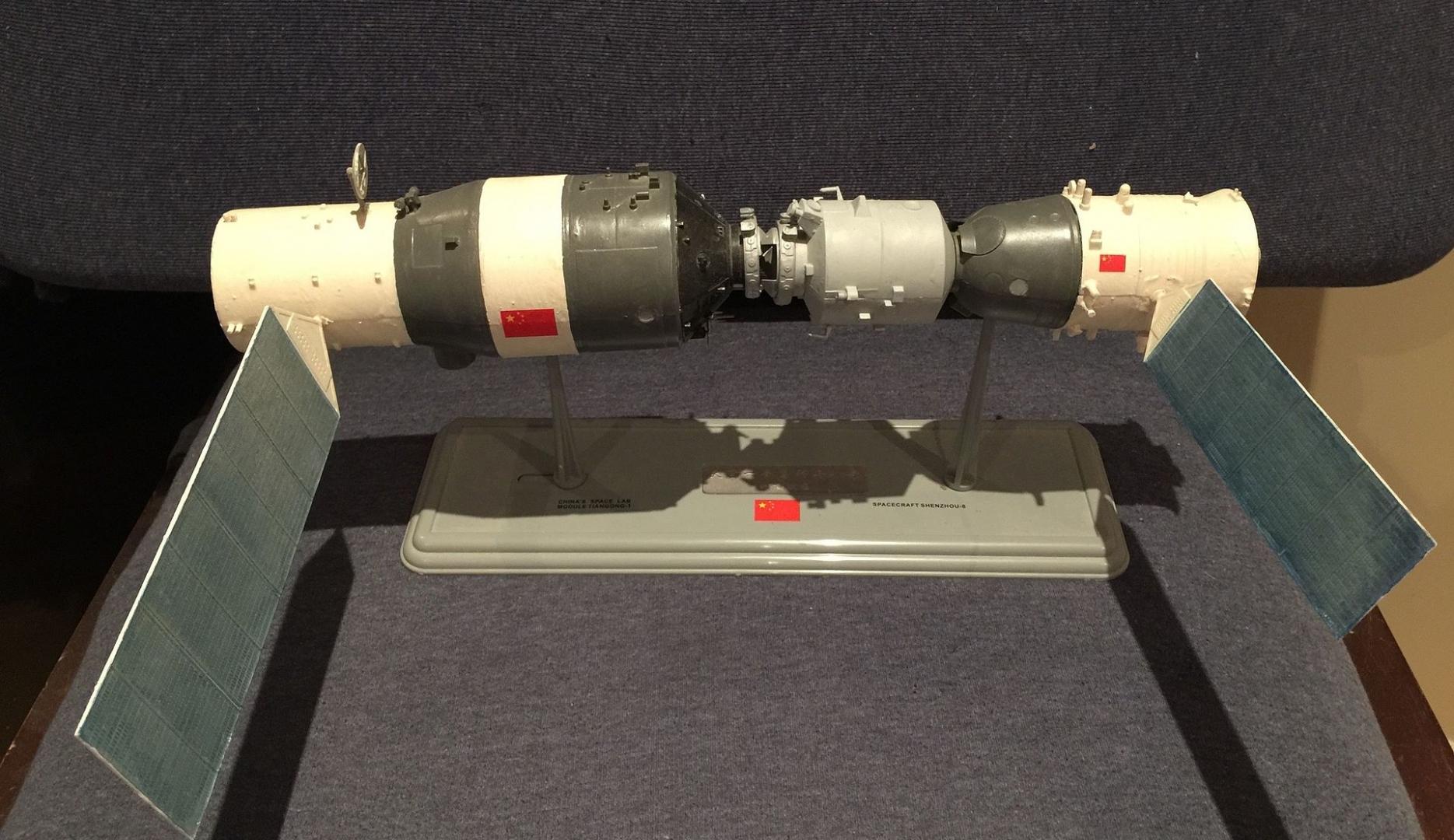 Макет космической лаборатории «Тяньгун-2