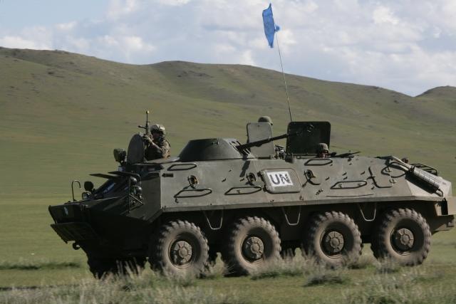 Монгольские миротворцы вернулись на родину