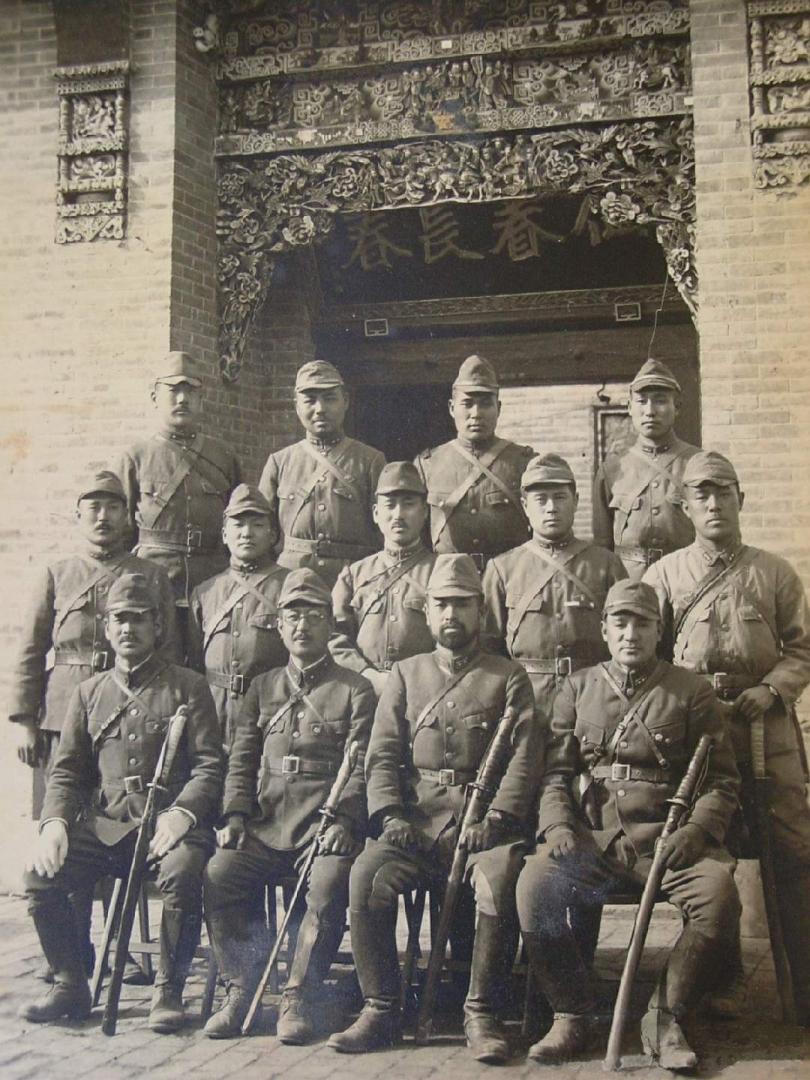 Японские военные в Китае