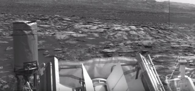 NASA опубликовало снимки марсохода Curiosity на поверхности Марса