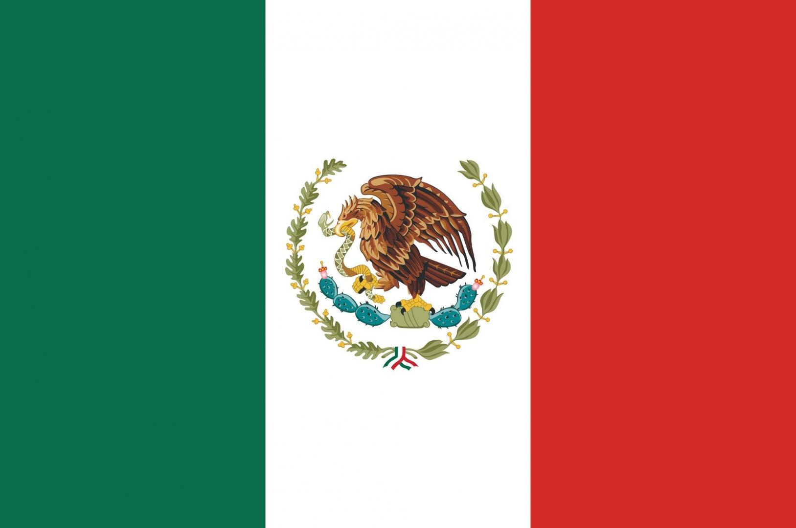 Фото флага мексики