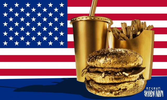 Золотой «биг-мак» американского ВПК