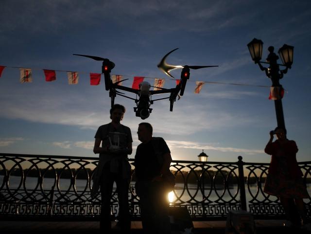 Проект «Дронофотография» набирает высоту