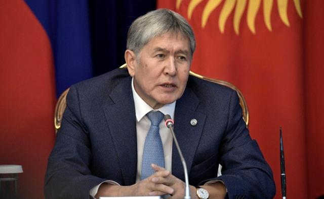 Атамбаев предложил разместить российских военных на юге Киргизии