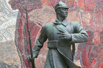 Красноармеец, Музей Вооруженных Сил,  Шадр, 1934