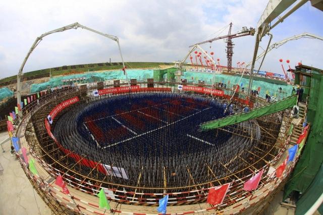 Строительство АЭС в Китае