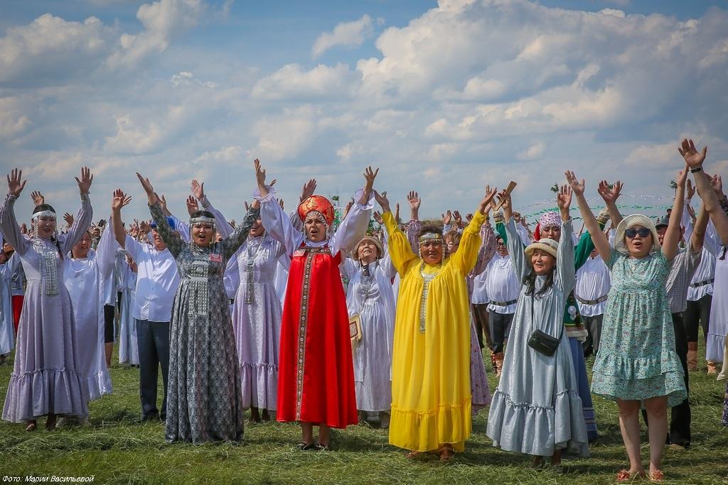 открытка ысыах с якутским праздником ведь конца