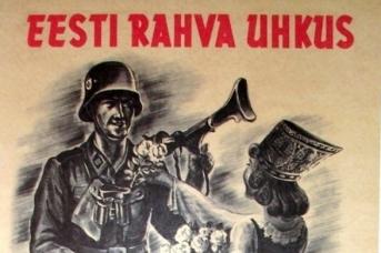 Фрагмент календаря, посвященного эстонской 20 дивизии Waffen SS. Издательство Grenader, Таллин, 2008 г