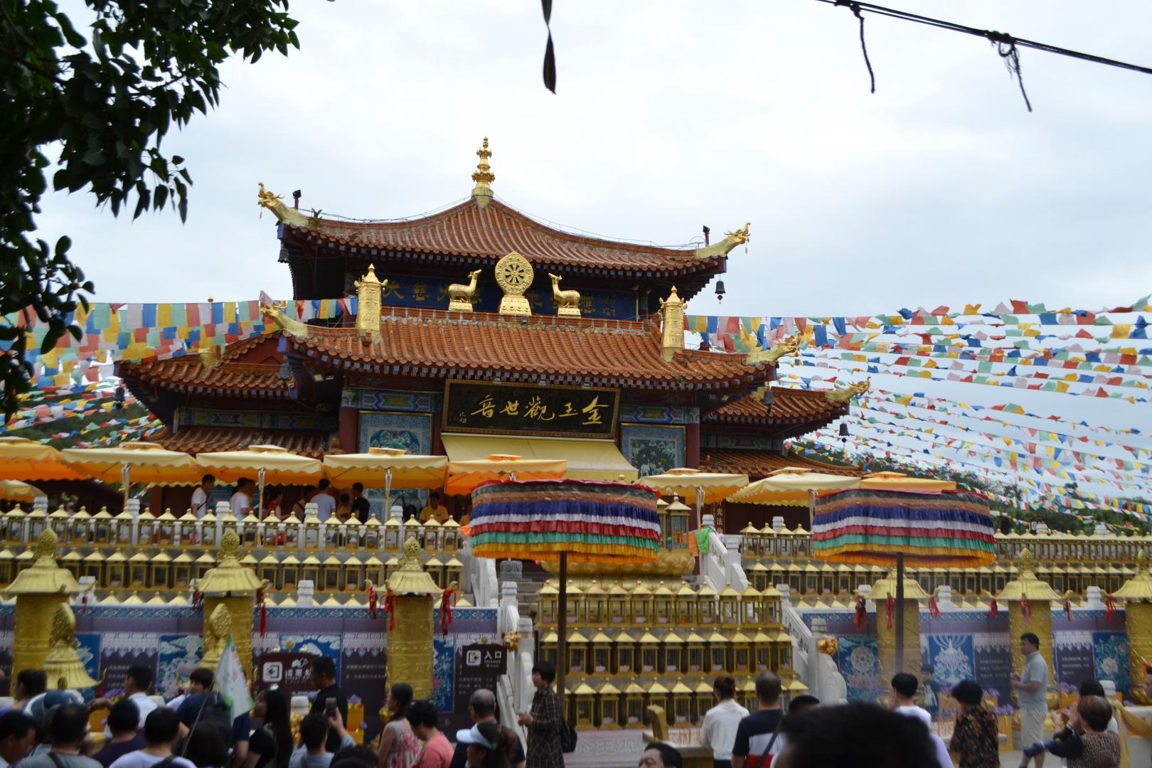Китай, остров хайнань, центр буддизма наньшань