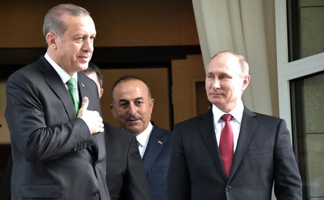 Путин и Эрдоган формируют сирийскую повестку