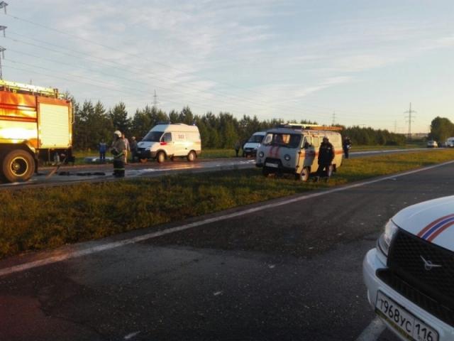 Опознание погибших пассажиров закончилось: ДТП в Татарии