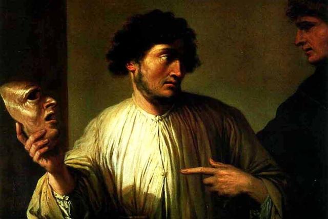 Сальватор Роза. Аллегория лжи (фрагмент). 1640-е