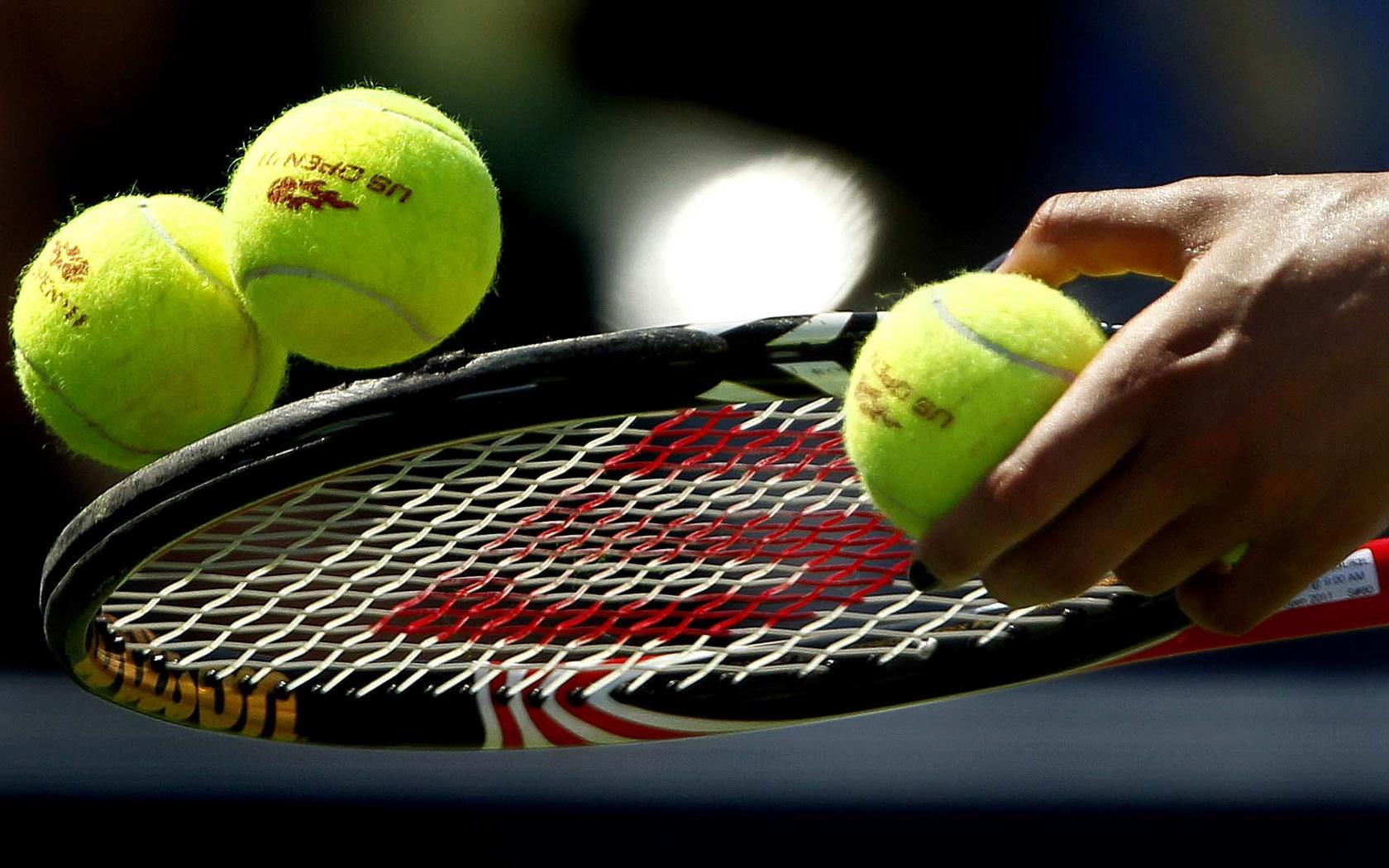 Открытка, картинка с теннисом
