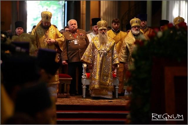 Митрополит Варсонофий и гости церемонии