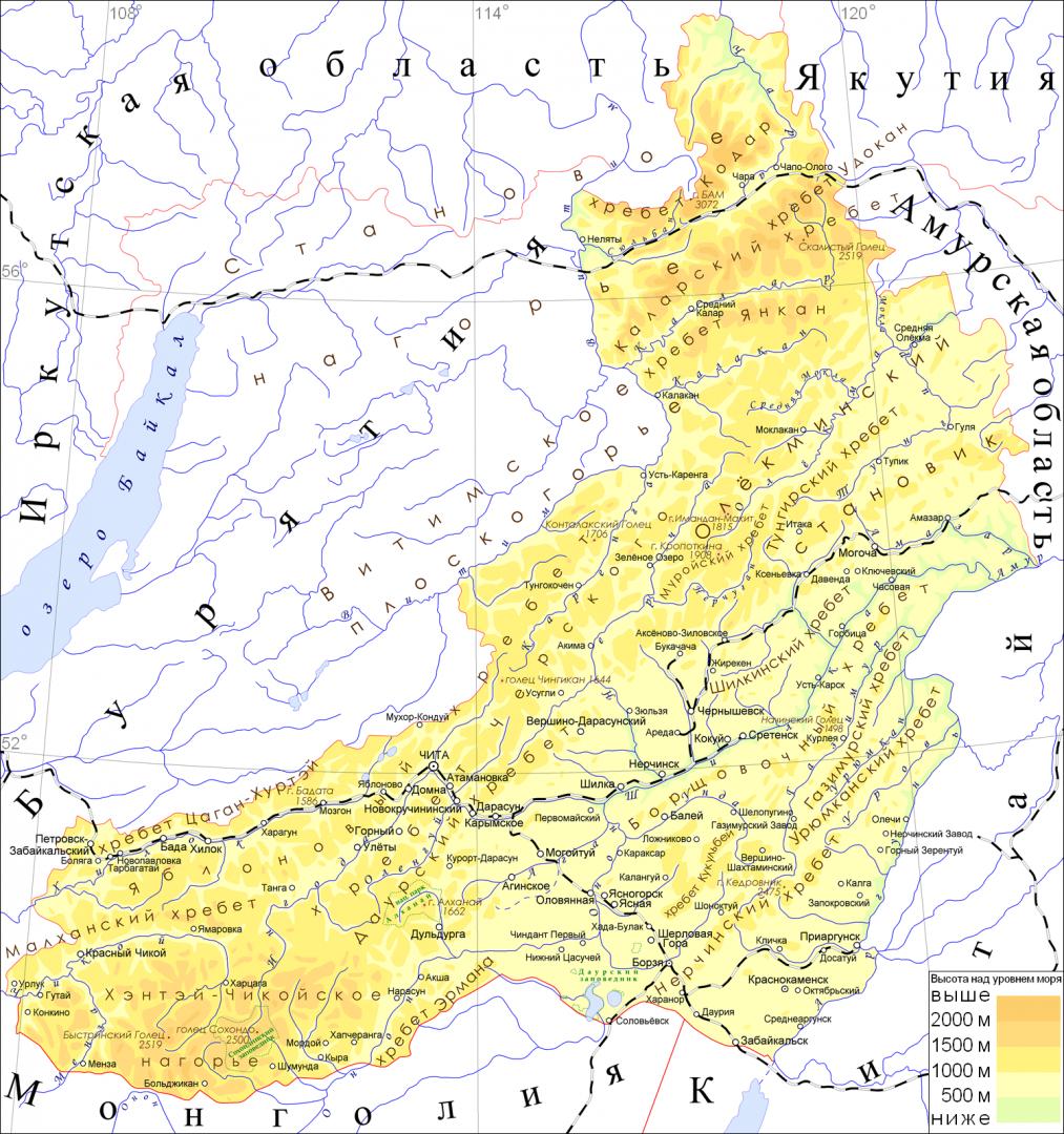 картинки карта забайкальского края напрасно