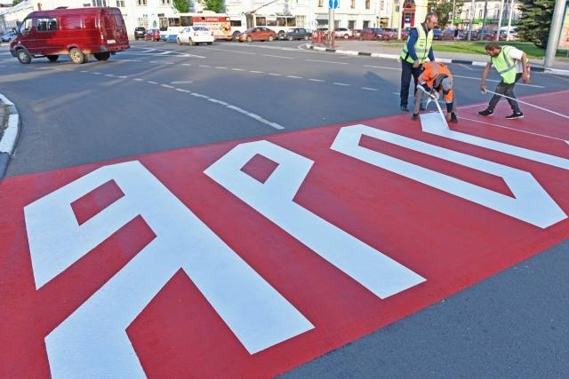 Креативный пешеходный переход в Ярославле не согласован с ГИБДД