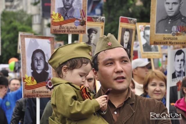 «Бессмертный полк» в Бишкеке