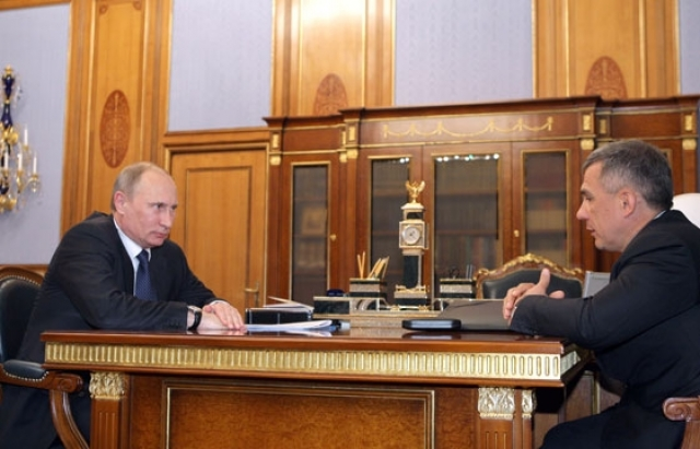 СМИ: Кремль готов сохранить должность президента Татарии до 2020 года