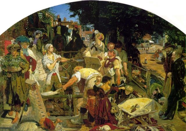 Форд Мэдокс Браун. Труд. 1852 — 1865