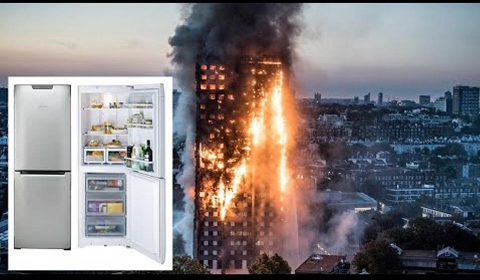 Лондонский пожар 14.06.2017 и вызвавший его холодильник Hotpoint фирмы Whirlpool