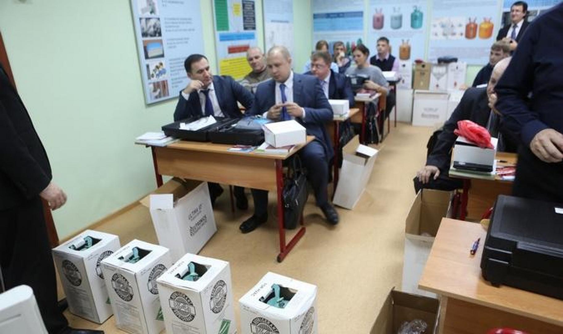 Тренинг UNIDO и GEF-MNRE по предотвращению нелегального импорта «озоноразрушающих» соединений, ноябрь 2013 года