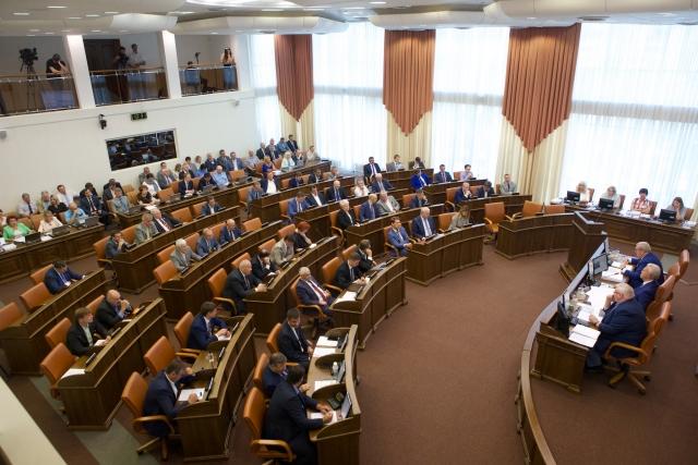 Красноярские депутаты могут отменить закон о повышении своих зарплат