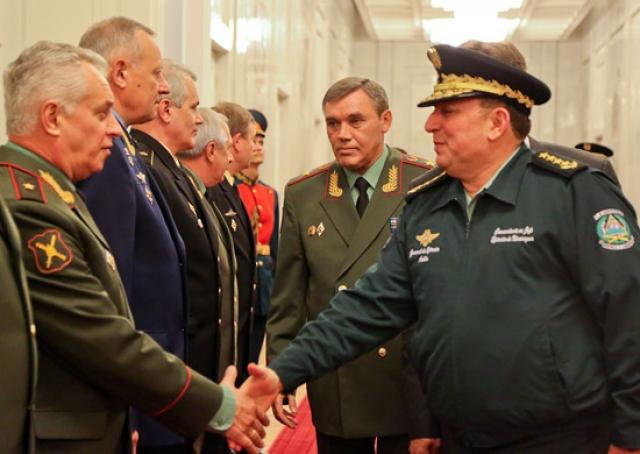 Встреча российских и никарагуанских военных
