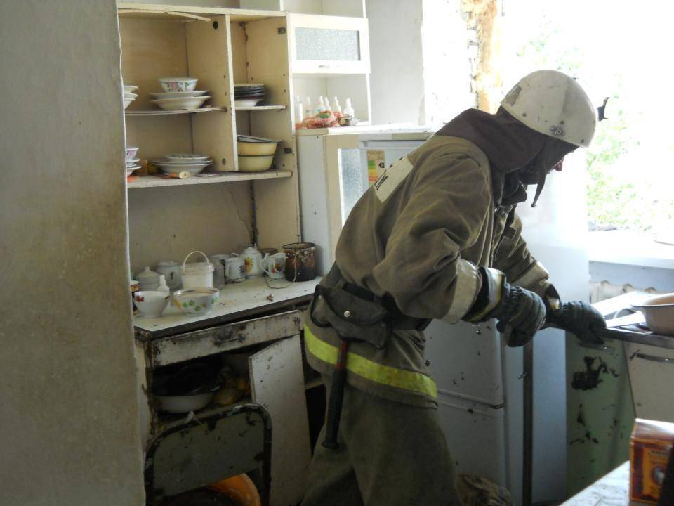 Картинка взрыв газа на кухне