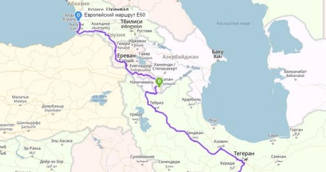«Анкара и Баку мешают связать Иран через Армению с Грузией»