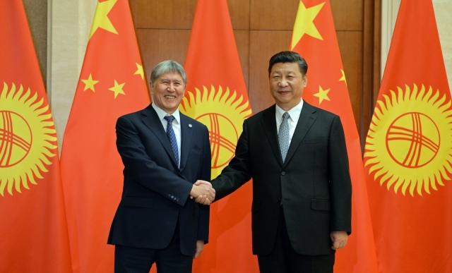 Алмазбек Атамбаев и Си Цзиньпин